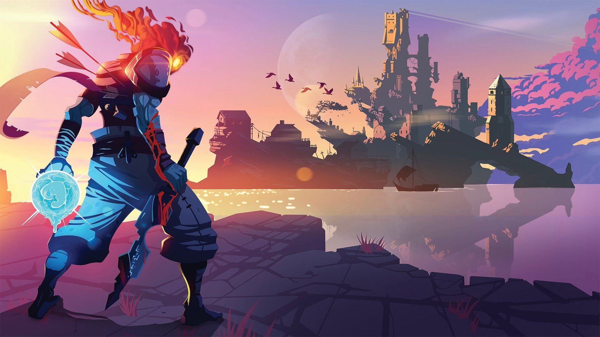 Dead cells motion twin video games video game art 1080p