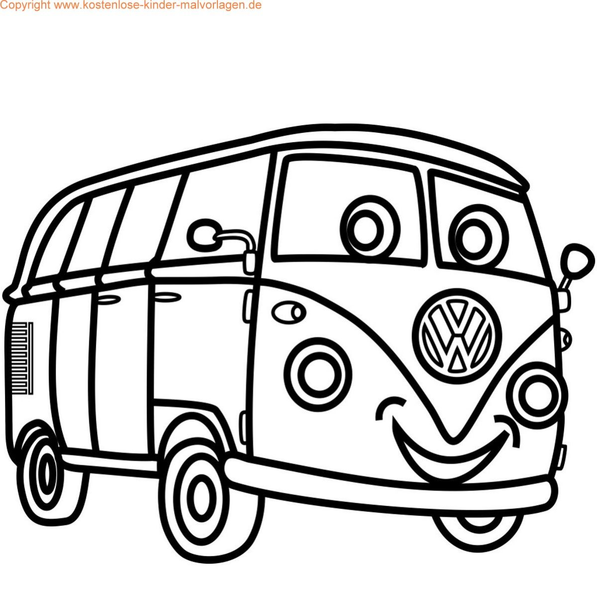 Pin Kostenlose Auto Malvorlage Ausmalbild Car Coloring Pages On ...