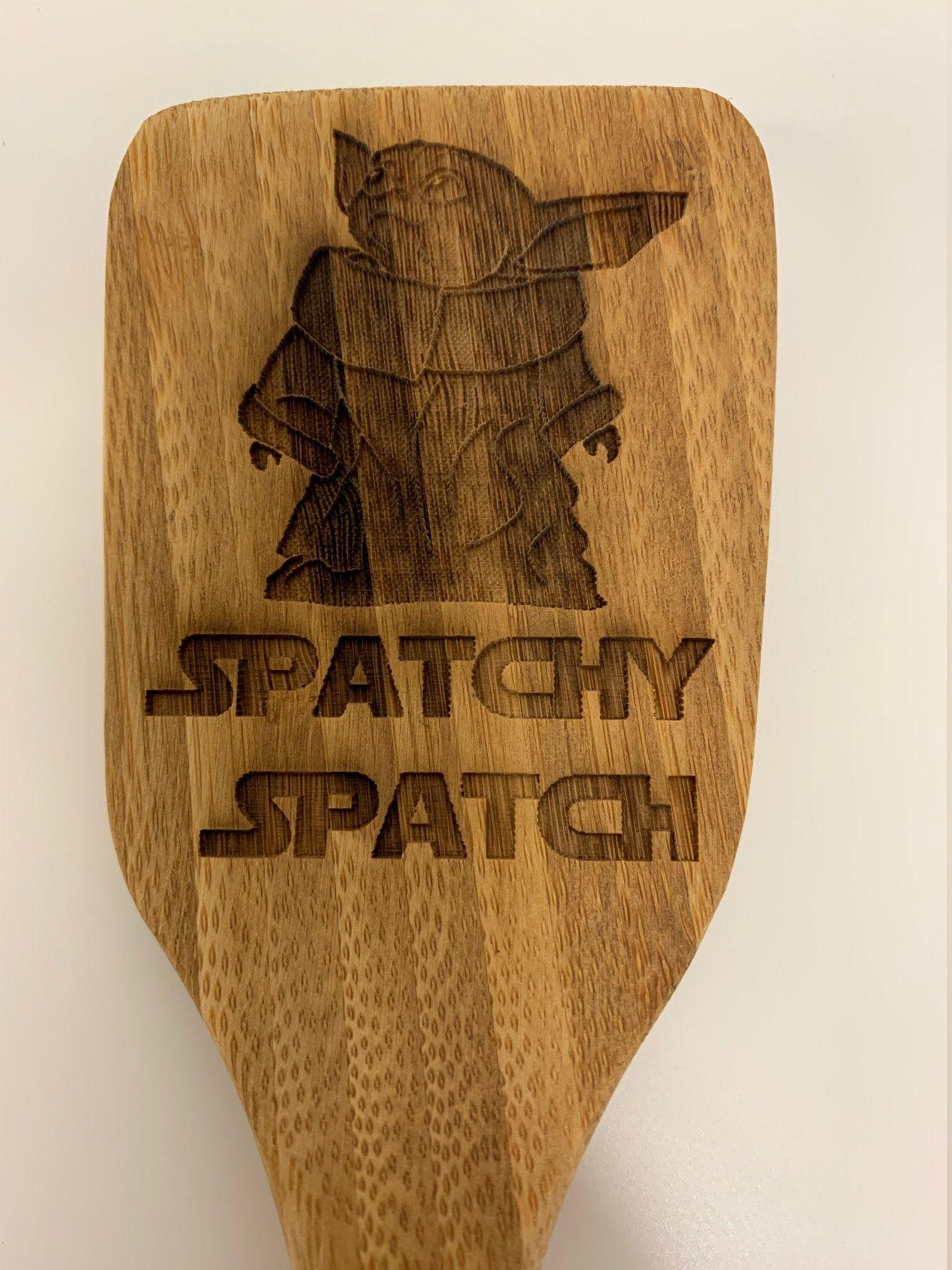 Spatchy Spatch Original Item Laser Etched By Americanstorefront