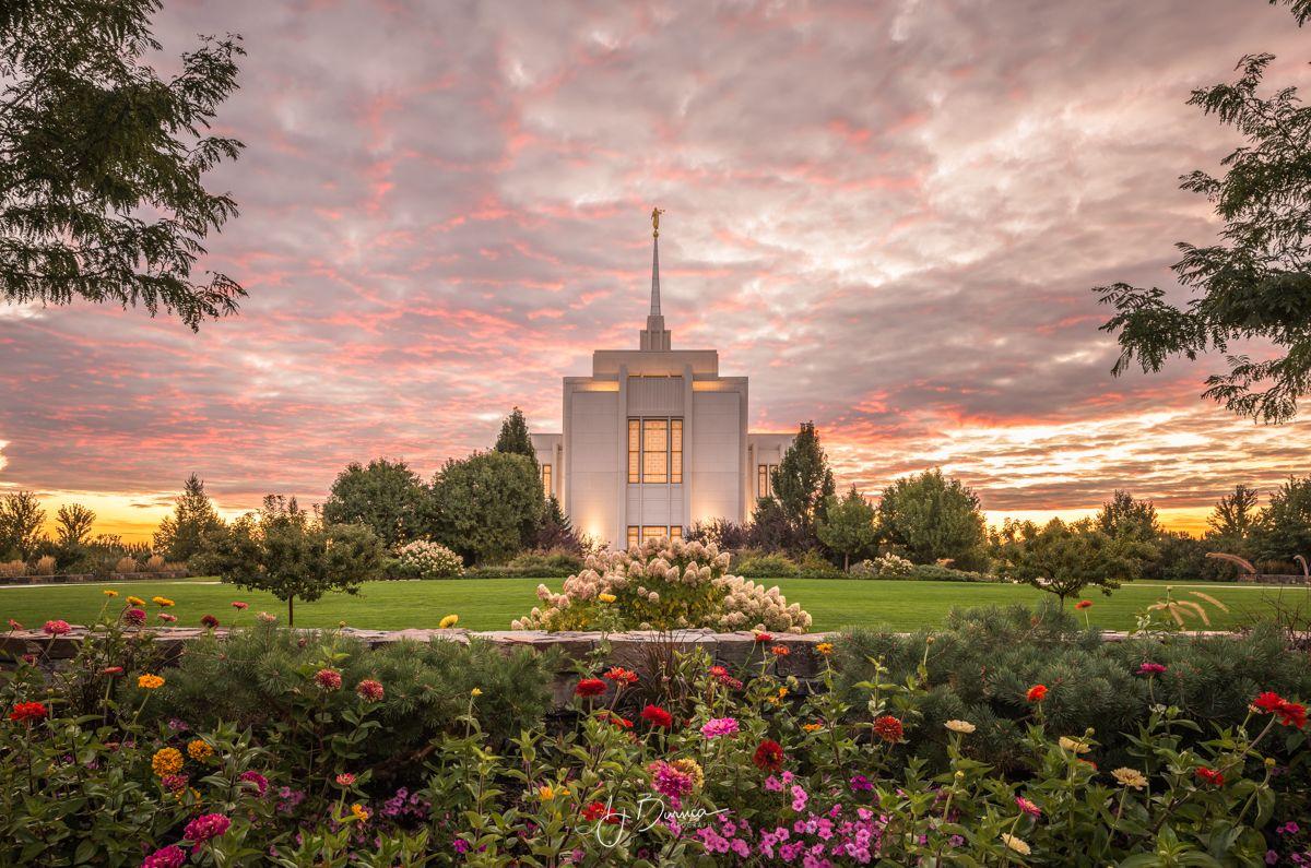 Eternal Paradise Twin Falls Idaho Temple Lds temple