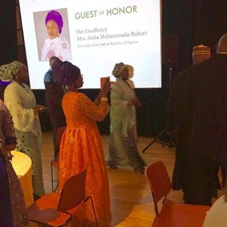 Nigerian Blog: News update In Nigeria | Kokolevel's Blog: Mrs Aisha Buhari takes United States for events an...