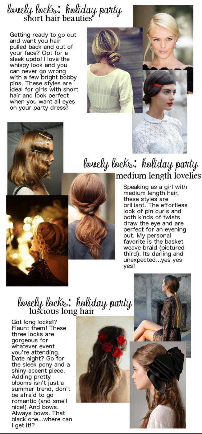 MHK in STL | Lovely Locks - Holiday Hair Inspiration