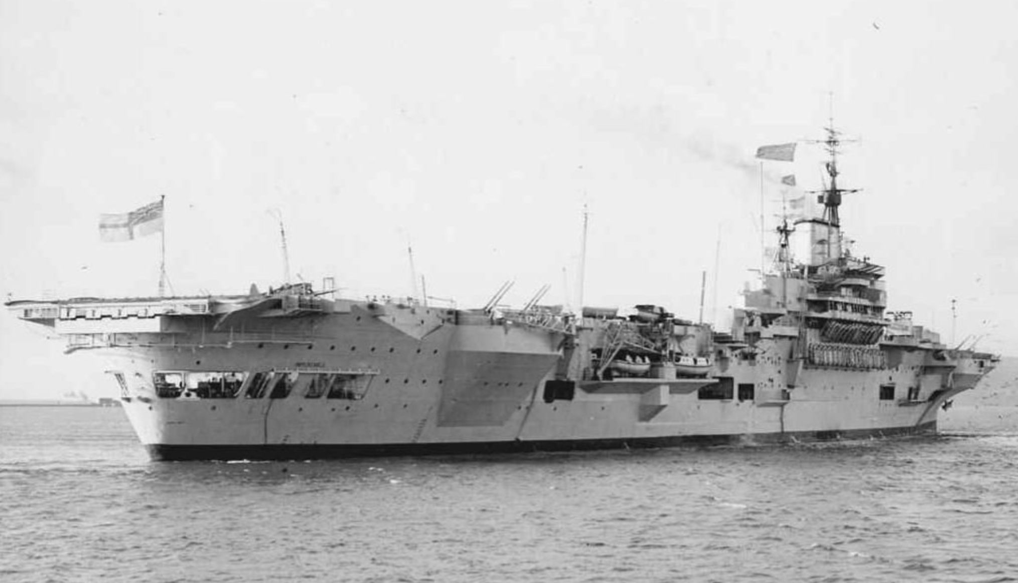 HMS Implacable (R86) was an Implacable-class aircraft ...