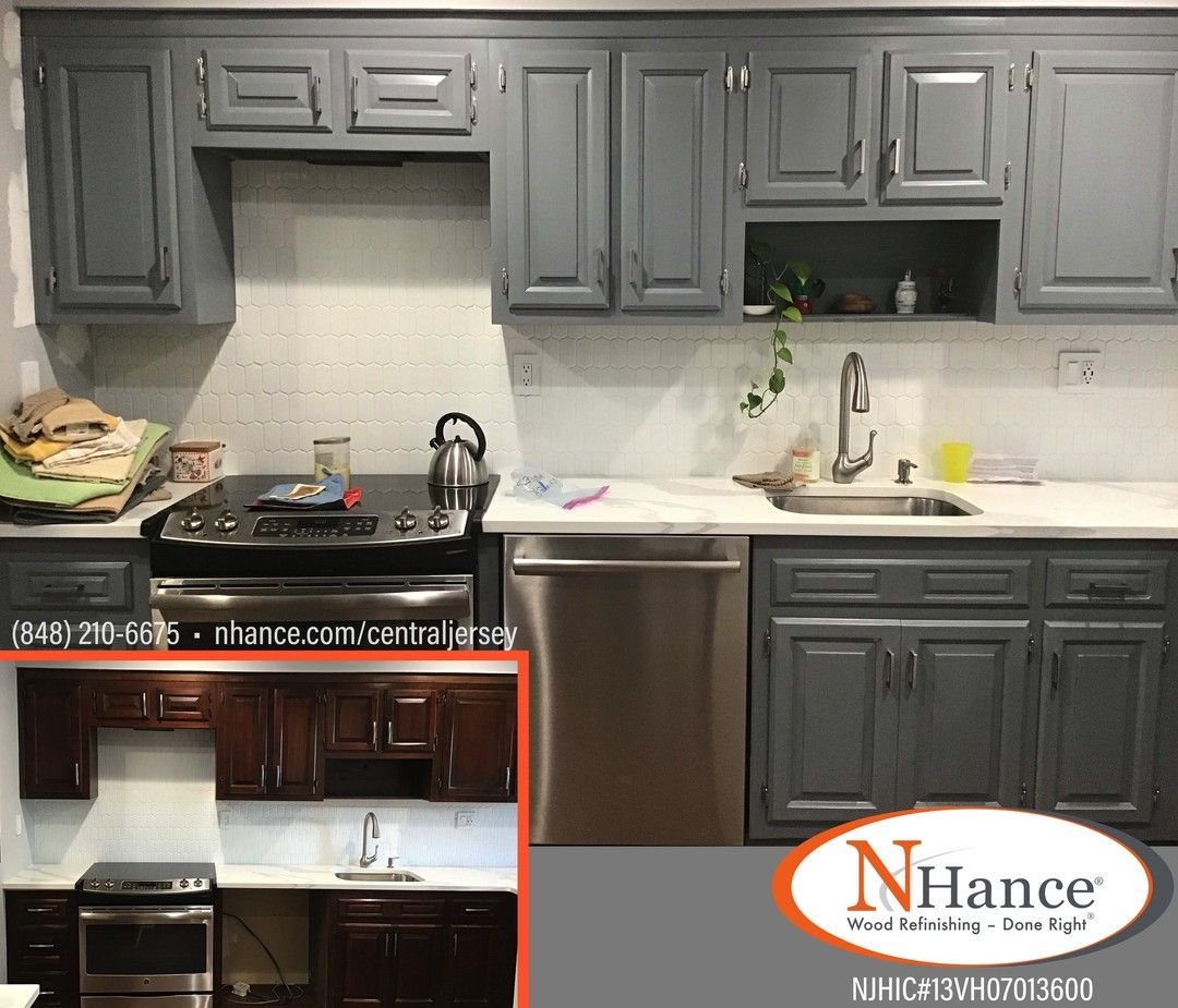 Looking To Give Your Kitchen A New Look N Hance Uses Proprietary Products Designed Specifically For Cabi In 2020 Kitchen Remodel Updated Kitchen Refinishing Cabinets