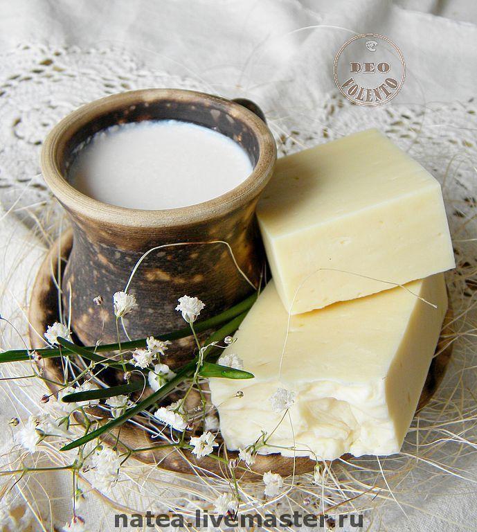 """Купить Натуральное мыло """"Dairy Cream"""" - детское мыло, натуральное мыло, домашнее мыло"""