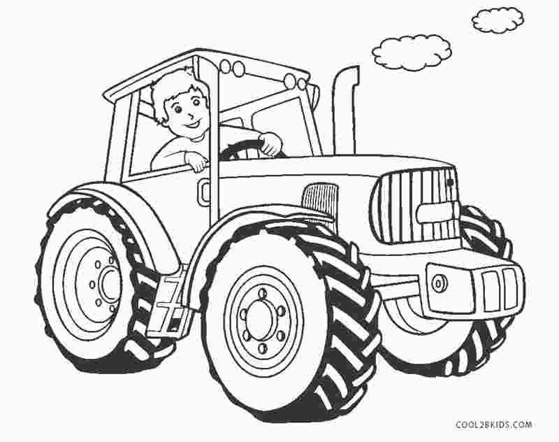 Coloring pages kids: Case Tractor Coloring Pages To Print