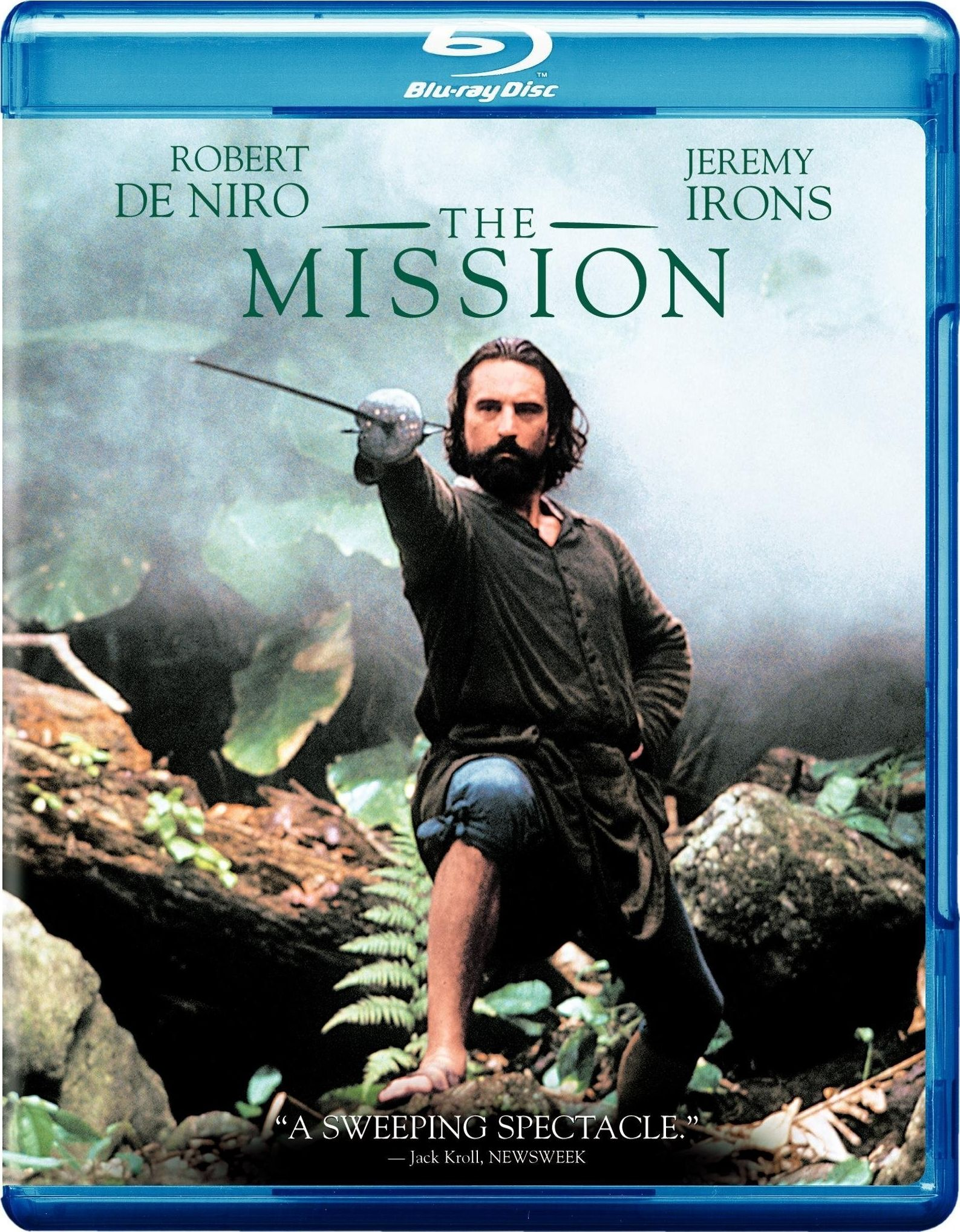 The Mission Christian Movie/Film DVD Bluray, Robert De