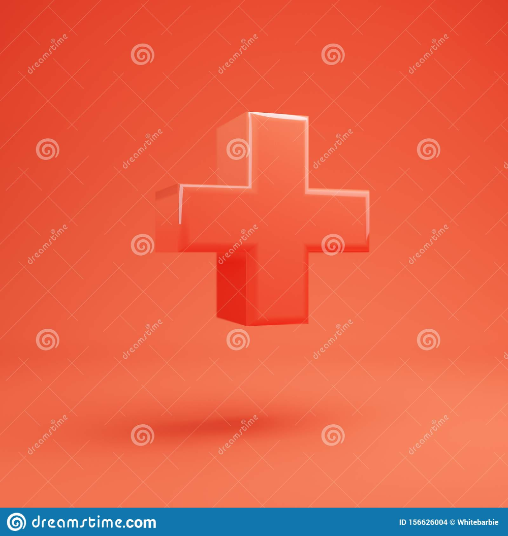 Plus Symbol Living Coral Font With Glossy Reflections And Shadow Stock Illustration Illustration Of Coral Sign 1 Stock Illustration Type Posters Lettering