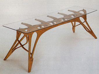 Tavolo Disegno ~ Carlo mollino tavolo a vertebre per la casa editrice lattes