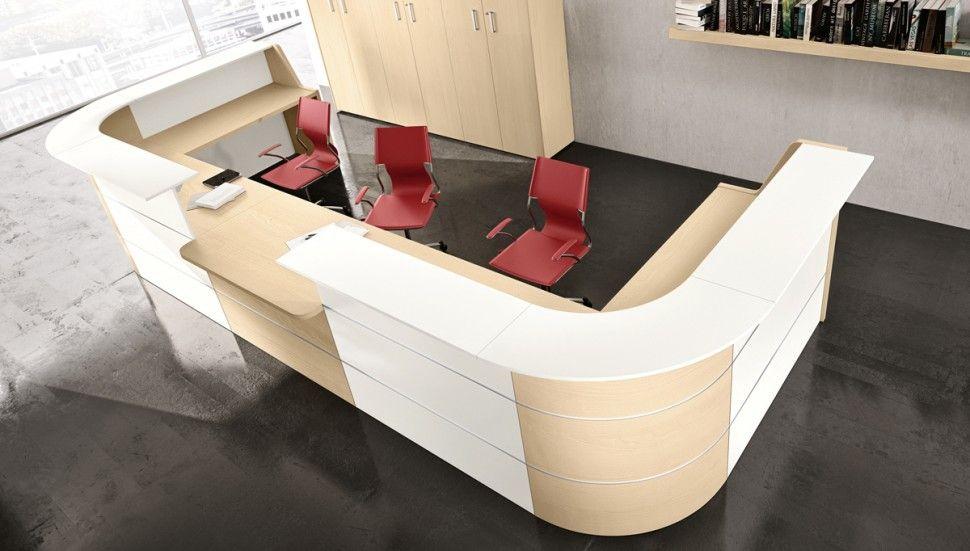 Adito Linear Reception Desks