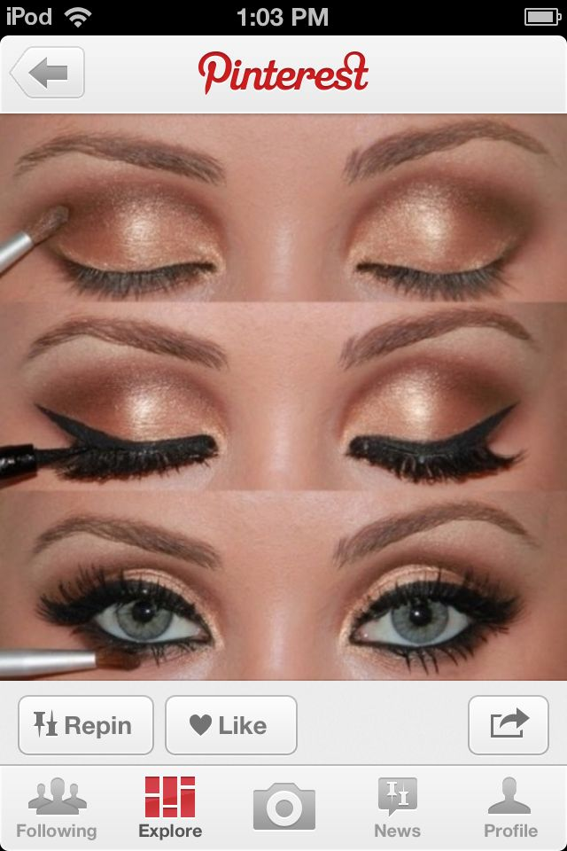 Homecoming Make Up Makeup Pinterest Homecoming Makeup And