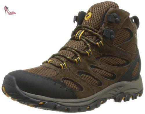 Merrell Tucson Mid Gtx, Chaussures de randonnée homme - Marron (Chocolate),  43