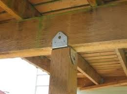 framing hardware adjustable post to beam google search