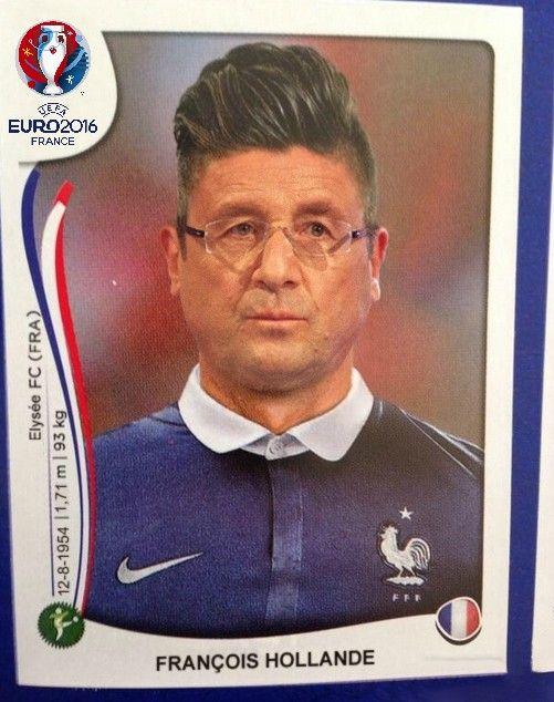 Euro 2016 François Hollande   Allez les bleus, Coupe du monde, Footeux
