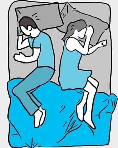 Paarpsychologie: Das sagt Ihre Schlafposition über Ihre Beziehung aus