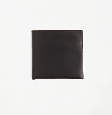 Stitchless Bifold Wallet Black | Tom Hide