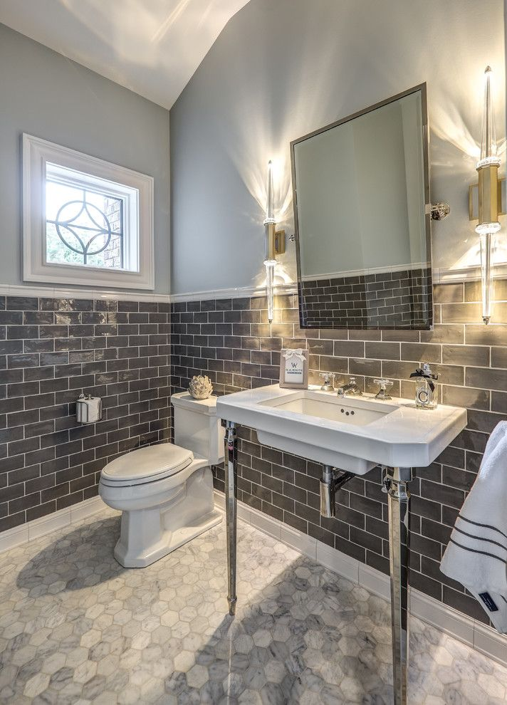 32 Best Small Bathroom Design Ideas And Decorations For 2020: Top 10 Stunning Powder Room Decorating Ideas For 2020