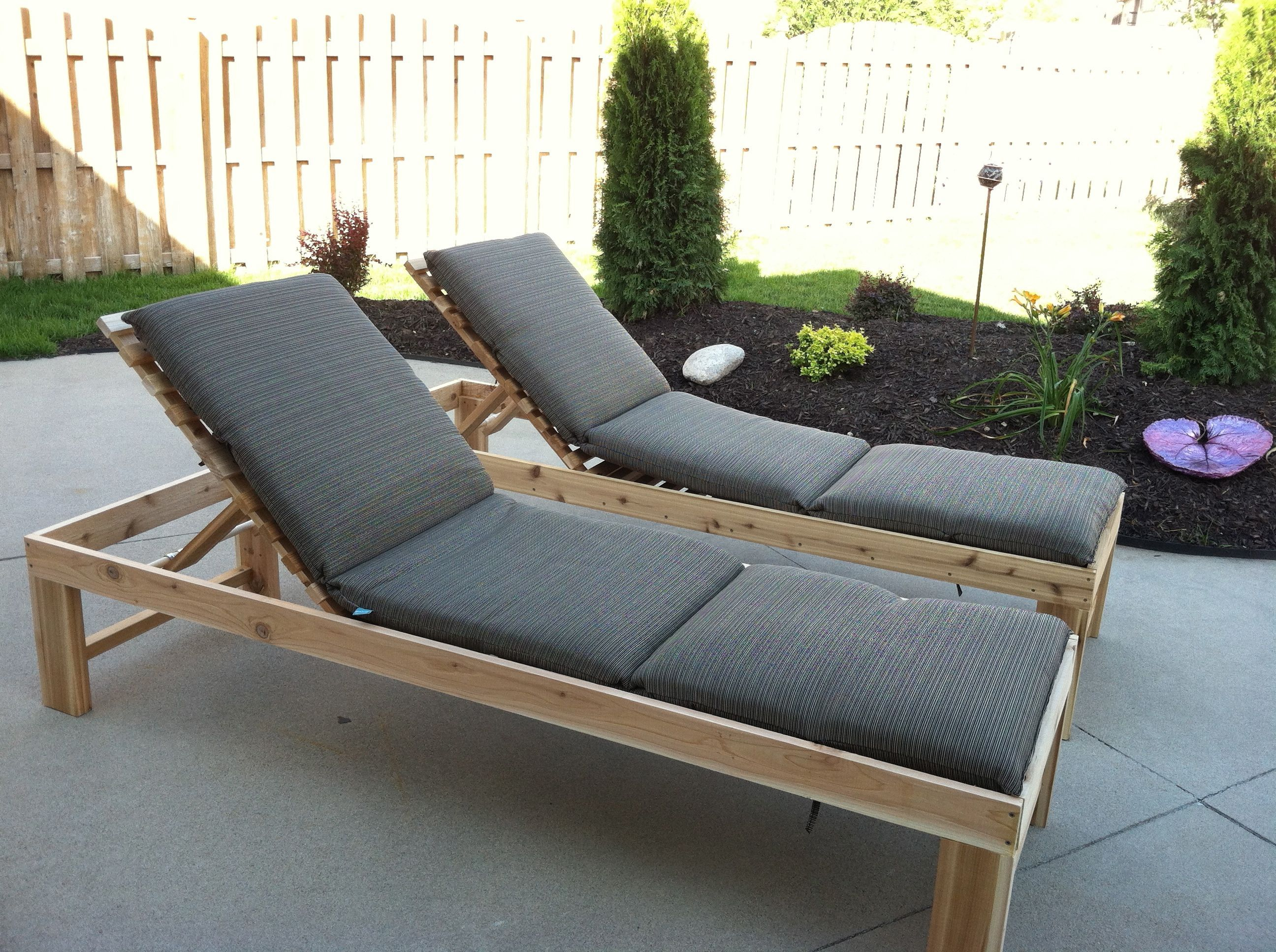 Outdoor Chaise Lounge Do It Yourself Home Projects from