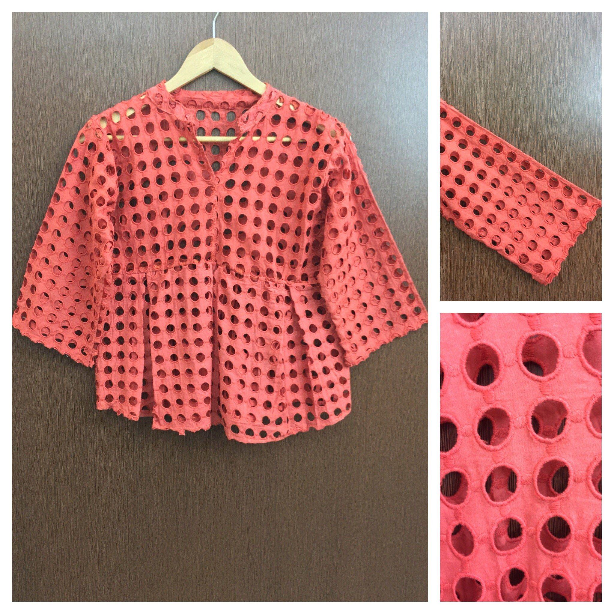 Buy yours today: Ruffled - Circula..., visit http://ftfy.bargains/products/ruffled-circular-cut-work-deep-orange-top?utm_campaign=social_autopilot&utm_source=pin&utm_medium=pin  #amazing #affordable #fashion #stylish