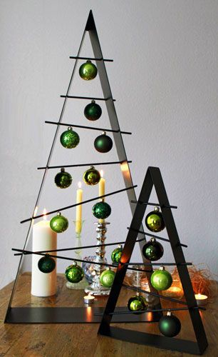 Moderner Weihnachtsbaum.Moderner Weihnachtsbaum Simpel Stilvoll Und Wunderschon