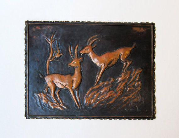 Unavailable Listing On Etsy Deer Wall Vintage Frames Prints