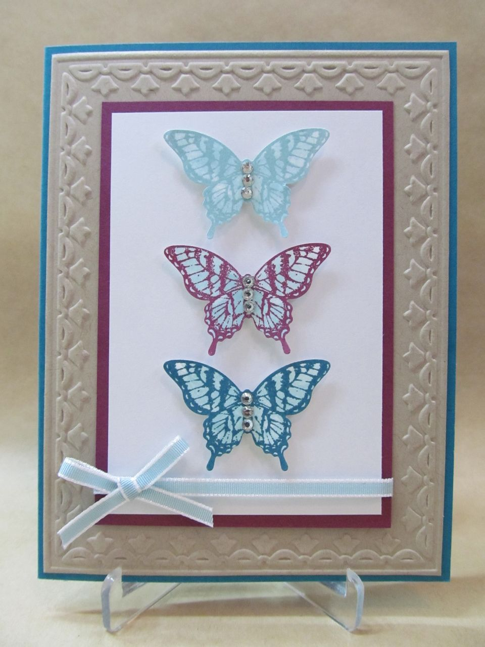 Elegant Butterfly Trio