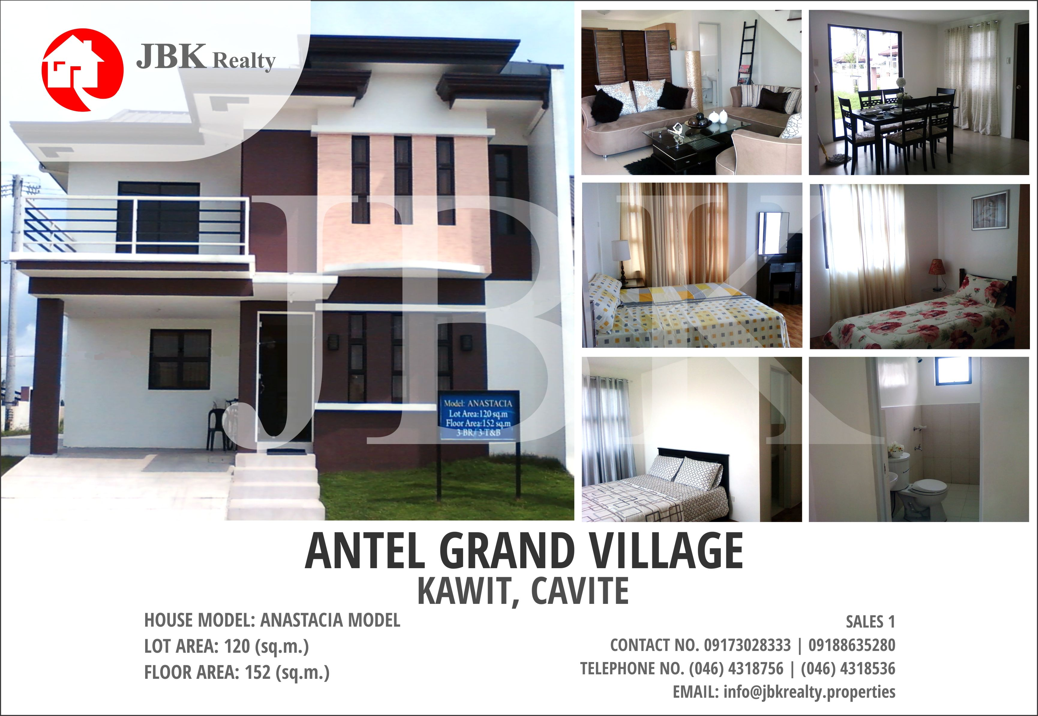 House Model: Anastacia House And Lot Location: Kawit,cavite Total Contract  Price (Tcp) - Php 5414000