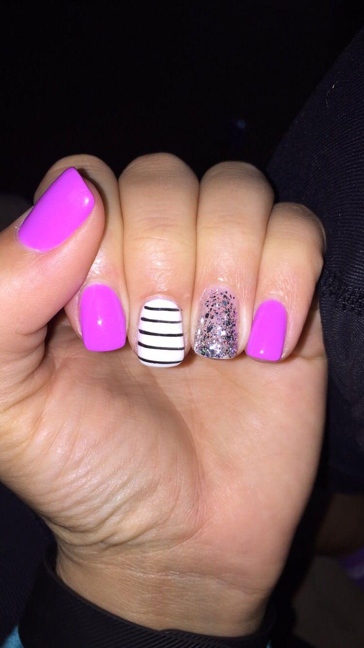 New gel nail polish with design love it nails nails nails