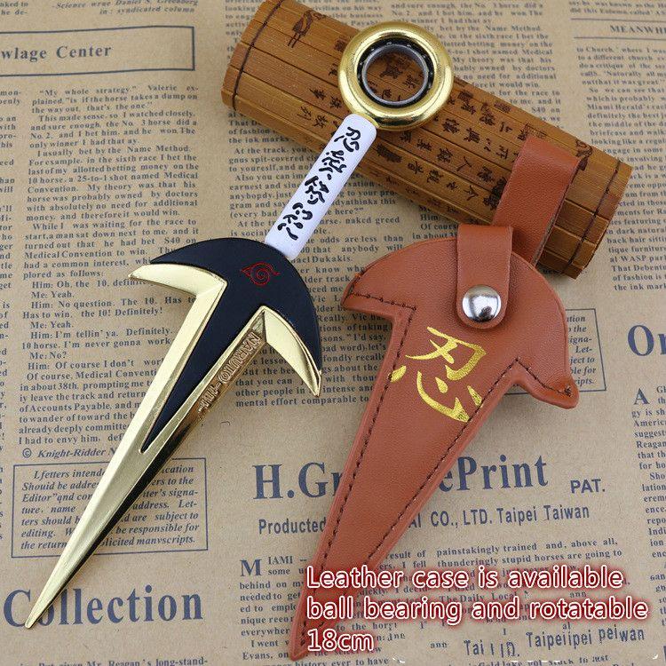 18cm Naruto Fourth Hokage Yondaime Namikaze Minato Kunai New