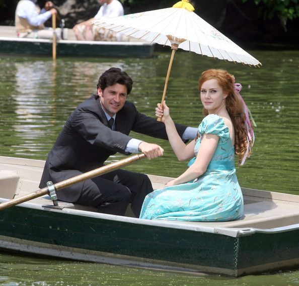 Patrick Dempsey And Amy Adams Photos Photos On The Set Of