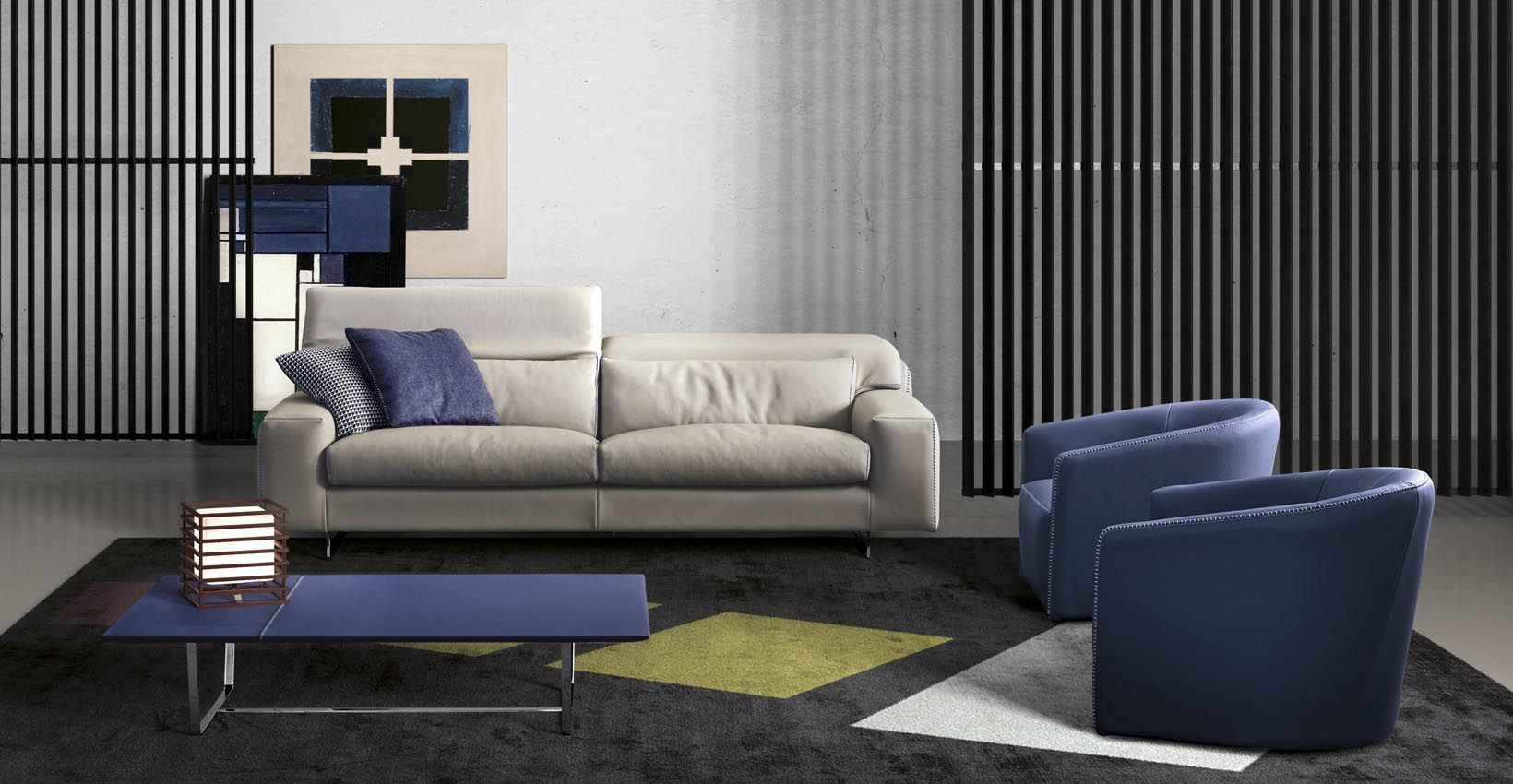 Pin By Meubles Richard On Meubles Design Contemporary Leather Sofa Sofa Design Furniture