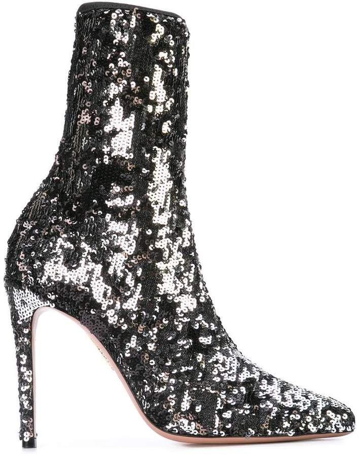 d51bdeecc9a Aquazzura Costes Boots | Products | Boots, Shoes boots ankle, Shoe boots
