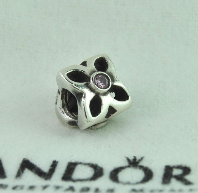 ba9ac8f28 Authentic Pandora Four Petal Flower Pink CZ #790260PCZ Retired #Pandora  #European