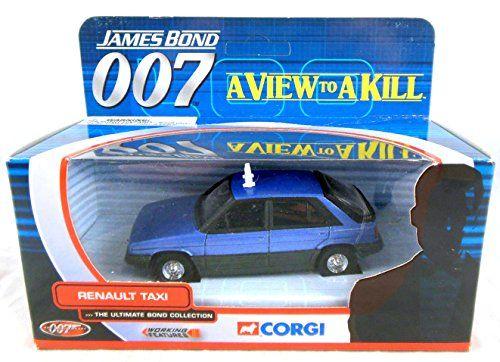 Corgi James Bond 007 A View To A Kill Renault Taxi 1 36th Https