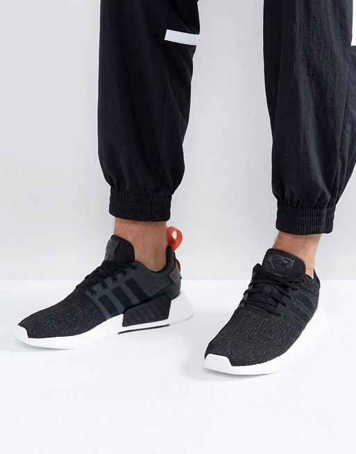 cheap for discount 236cc 36551 adidas Originals NMD R2 Sneakers In Black CG3384