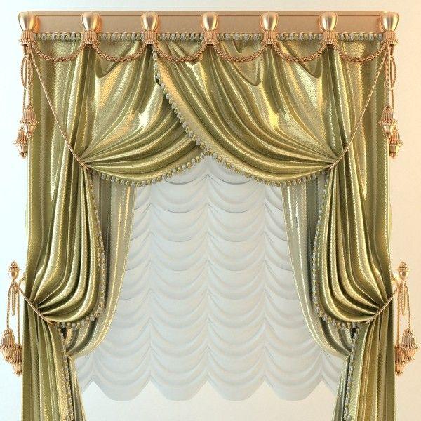 Baroque Curtains