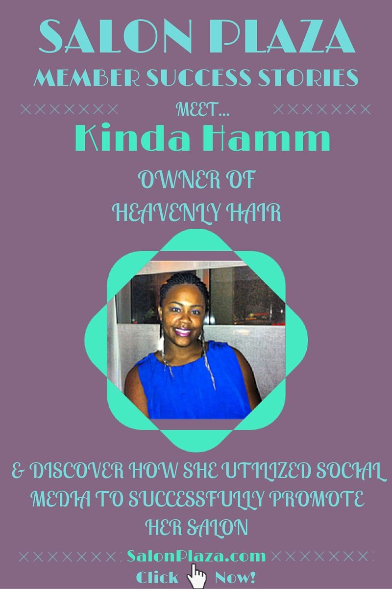 Meet Salon Owner Kinda Hamm Of Heavenly Hair In Richmond Virginia Fountain Square Blog Salonplaza Com Success Stories Salon Owners Salons