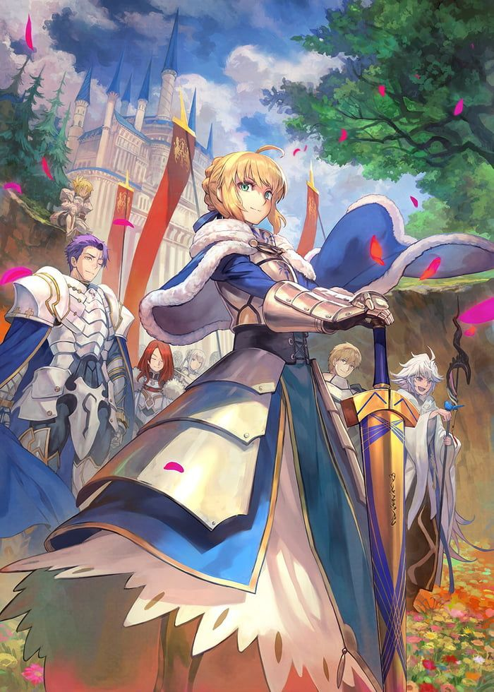 When are they gonna release Gareth? Anime, Fate stay