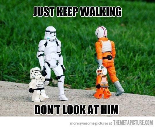 Just Keep Walking Dont Look At Him Lol Star Hilarious Star