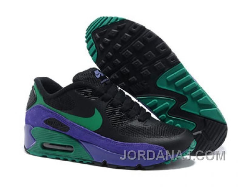 low priced cd61c 8f512 Cheap Nike Air Max 90 Hyperfuse For Women Trainers UK (Black New Green  Purple) SALE For Sale --- awesome site for shopping