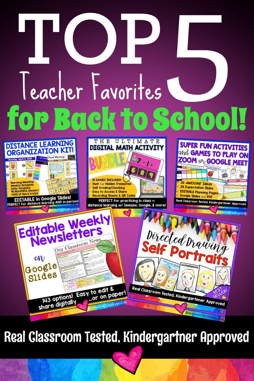 TOP 5 Teacher Favorites for Back to School! in 2020
