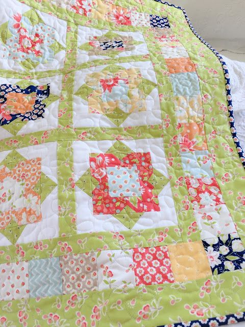 charm pack pattern by carried away quilting called