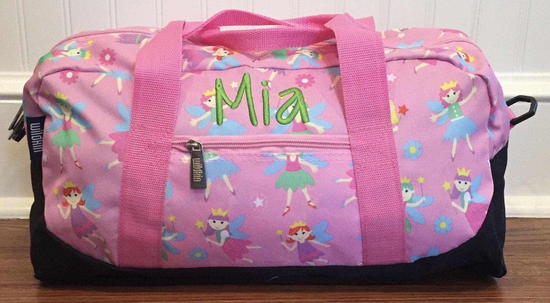 Girls Duffel Bag Overnight Bag Girls Birthday Gift Carry On