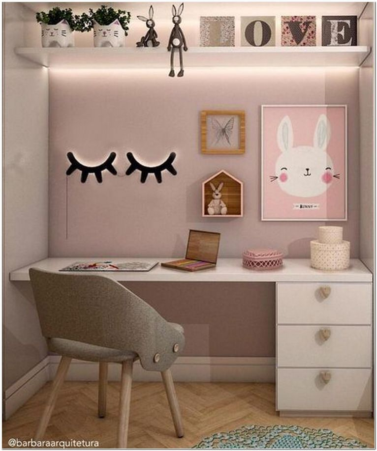 Photo of 71+ fabulous girls bedroom ideas to realize their dreamy space 8