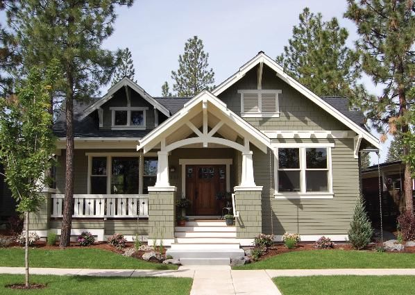 Home Plan: Building a better bungalow #craftsmanstylehomes