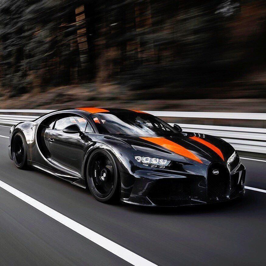New Fastest Car In The World Bugatti Chiron Supersport Prototype Breaks 300mph 304 773mph Cars247 Bugattichi Bugatti Chiron New Bugatti Chiron Super Cars