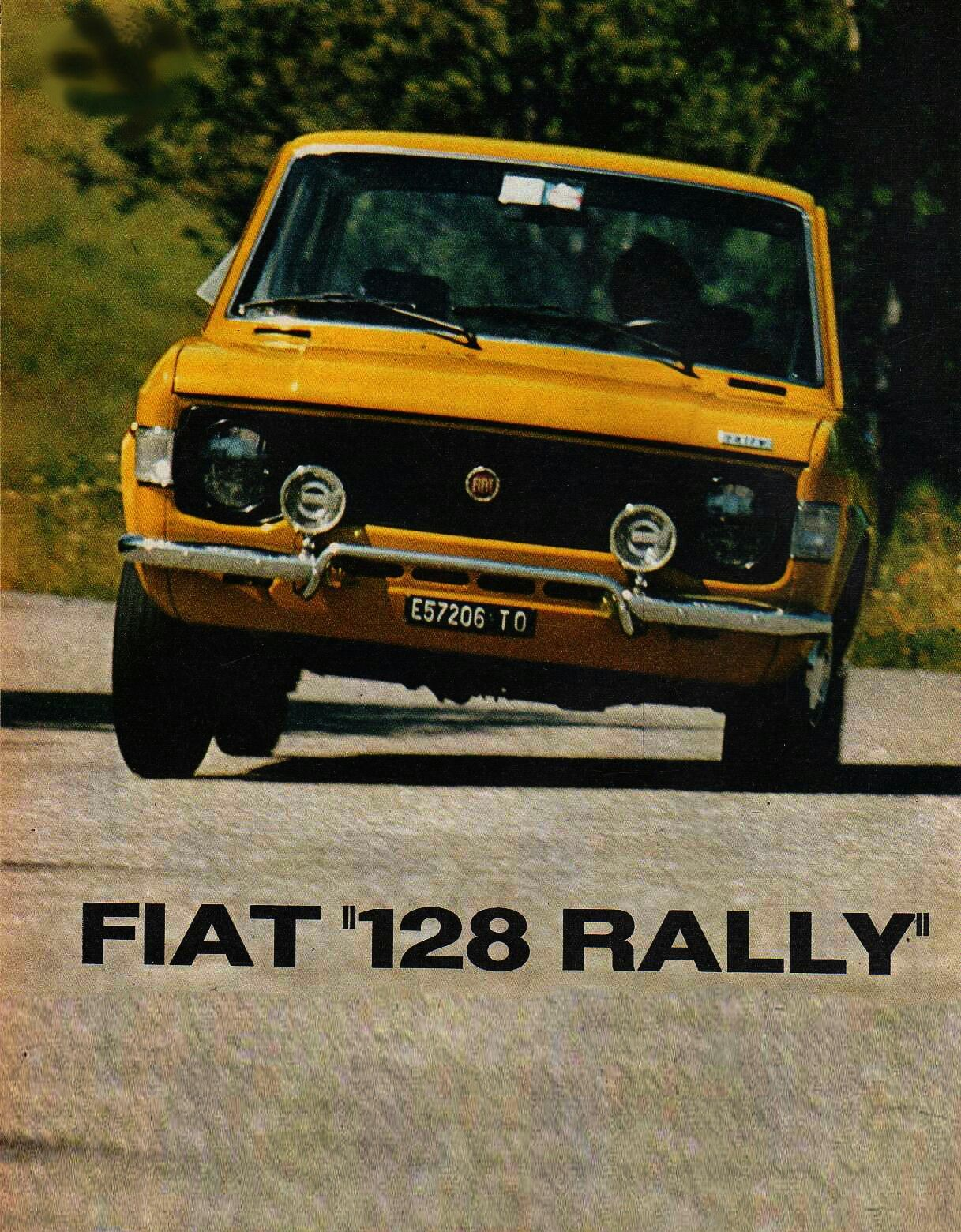 Fiat 128 Rally Fiat 128 Retro Cars Fiat