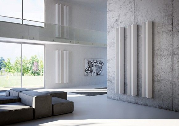 Termosifoni di design a bassa temperatura baño principal