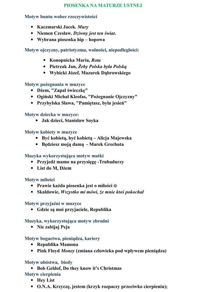 Pin By Marli On Matura Polski School Notes School Organization School