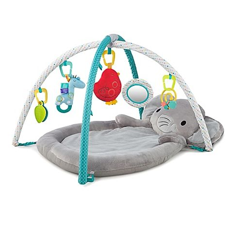 Bright Starts Enchanted Elephants Activity Gym Baby Supplies Baby Activity Mat Baby